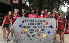 Nicholls held pride march ahead of today's National Coming Out Day