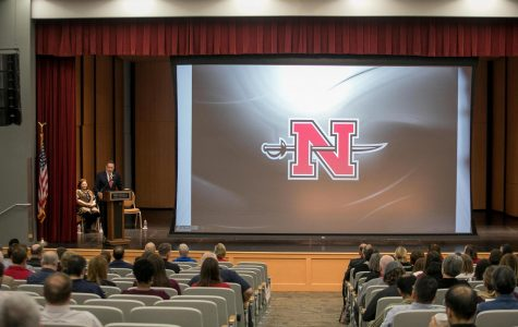 President Clune introduces new facilities/programs at Convocation