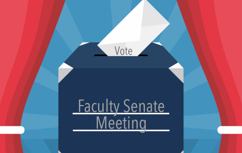 Nicholls Faculty Senate meeting regarding spring semester