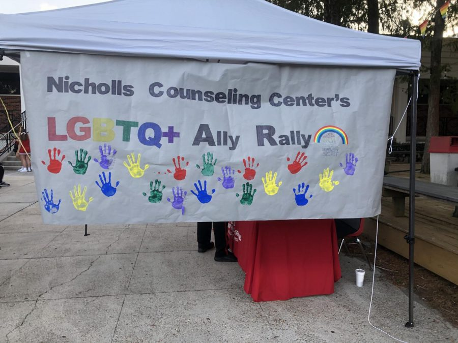 Nicholls+State+University%E2%80%99s+second+annual+LGBTQ%2B+rally+recap