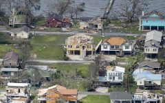 Hurricane Delta's impact over Louisiana